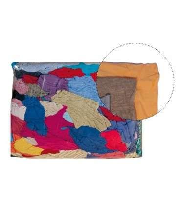 Bala de trapos de color 25 kg - Higiene industrial