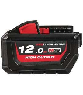 Bateria 18v 12Ah Milwaukee HIGH OUTPUT