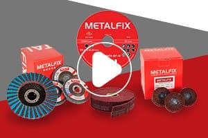 Metalfix vídeos - Conjunto de productos abrasivos