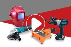 Metalfix vídeos - Equipos electroportátiles