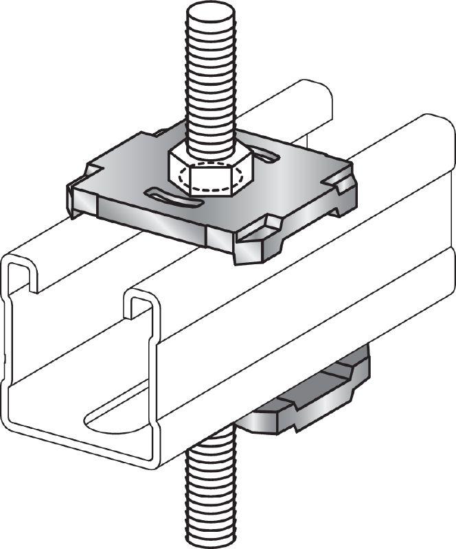 Guía perforada - Suministros industriales